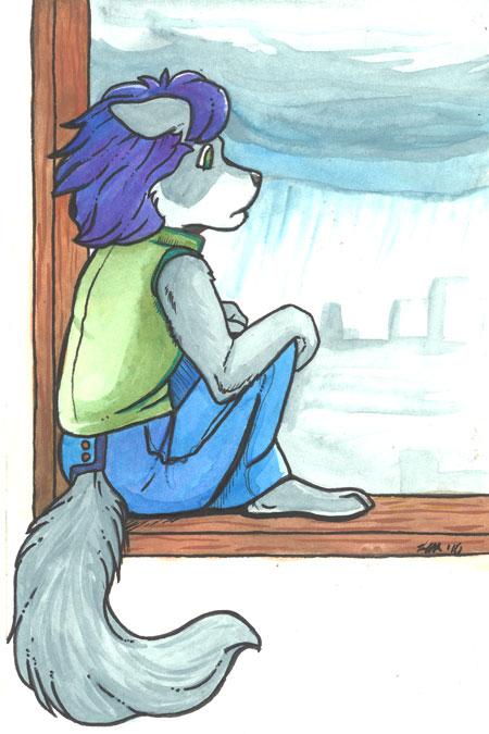 Watercolor Vincent