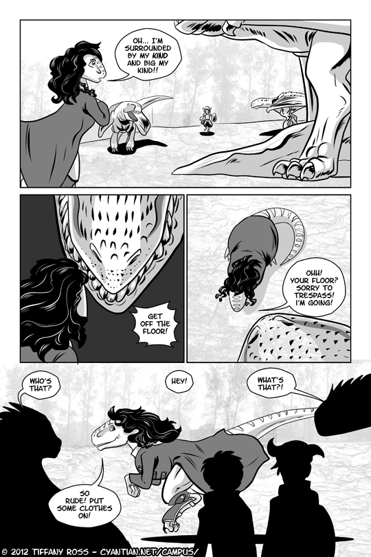 Campus Safari Chapter 2 Page 1