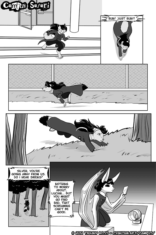 Campus Safari Chapter 2 Page 6