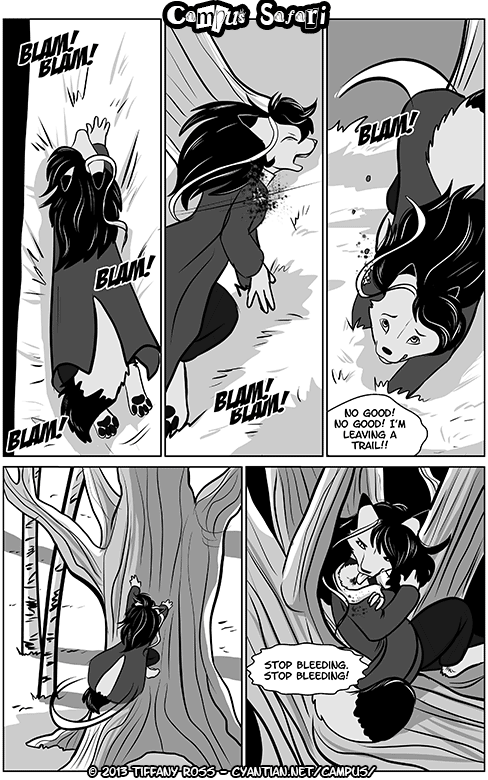 Campus Safari Chapter 2 Page 11