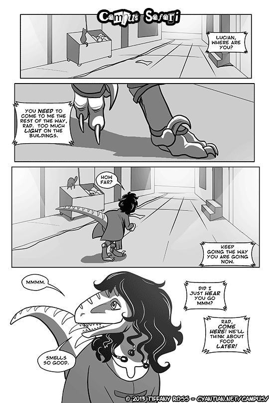 Campus Safari Chapter 3 Page 1