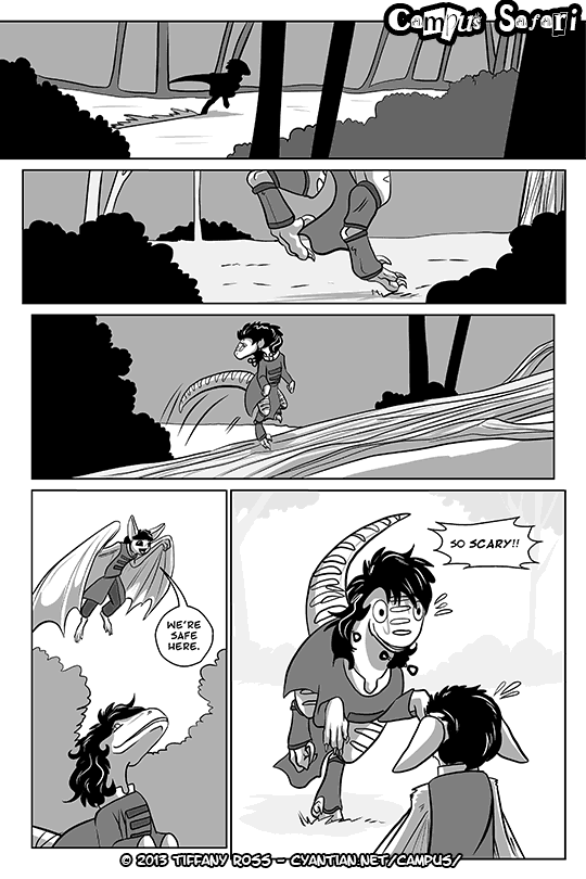 Campus Safari Chapter 3 Page 11