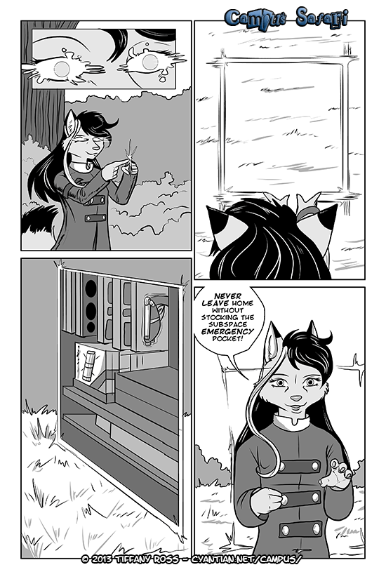 Campus Safari Chapter 3 Page 14