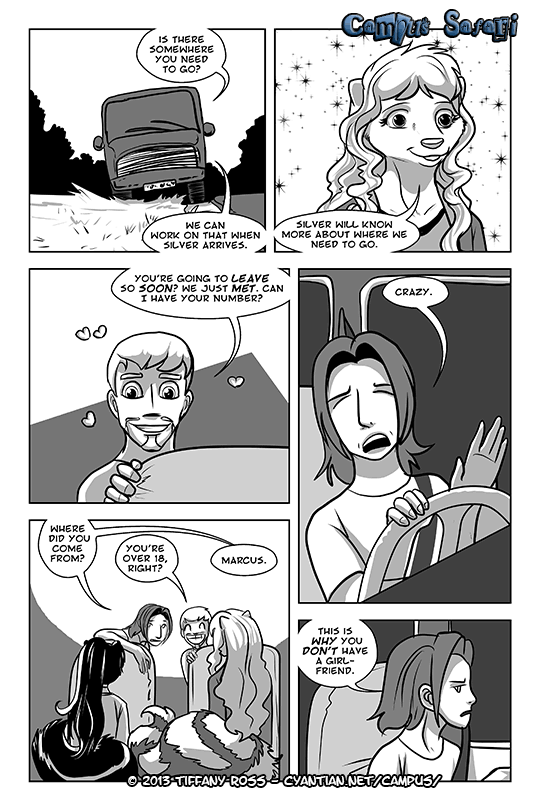 Campus Safari Chapter 4 Page 1